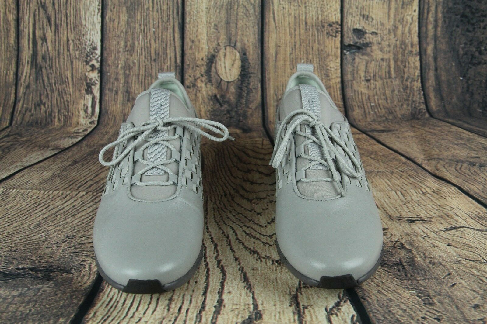 Cole Haan 2.0 studiogrand gris Cuero Cuero Cuero Moda W06040 para mujer Talla 9B Nuevo  250  se descuenta