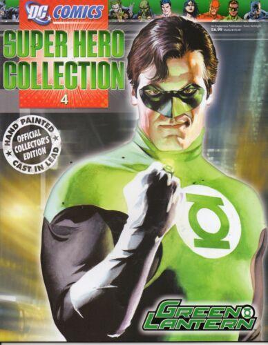 Eaglemoss DC super hero collection magazine seulement #4 Green Lantern