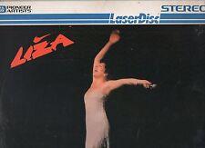 LIZA MINNELLI Laserdisc IN CONCERT 1981 made in USA