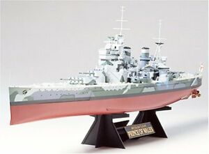 TAMIYA-1-350-British-Battleship-Prince-Of-Wales-Model-Kit-NEW-from-Japan