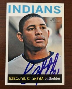 EZEQUIEL-CARRERA-2013-TOPPS-HERITAGE-AUTOGRAPHED-SIGNED-AUTO-BASEBALL-CARD-362