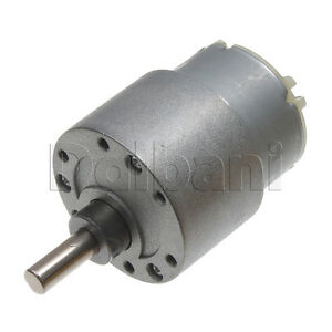 12v Dc 60 Rpm High Torque Gearbox Electric Motor