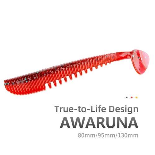 Artificial Baits Wobblers Soft Lures Shad Carp Silicone Fishing Tackle Awaruna