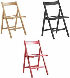 Argos Home Wooden Folding Chair Choice Of Black
