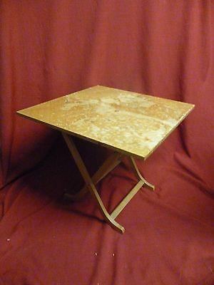 Anni 1960 Teak Pieghevole Side Table By Meredew (2)-mostra Il Titolo Originale