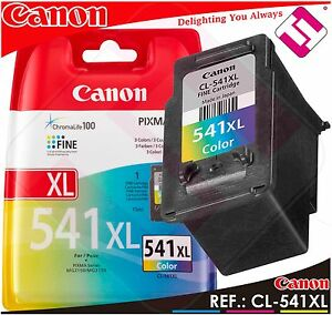 TINTA-COLOR-CANON-CL-541-XL-ORIGINAL-CARTUCHO-TRICOLOR-IMPRESORA-CL-541XL-AHORRO