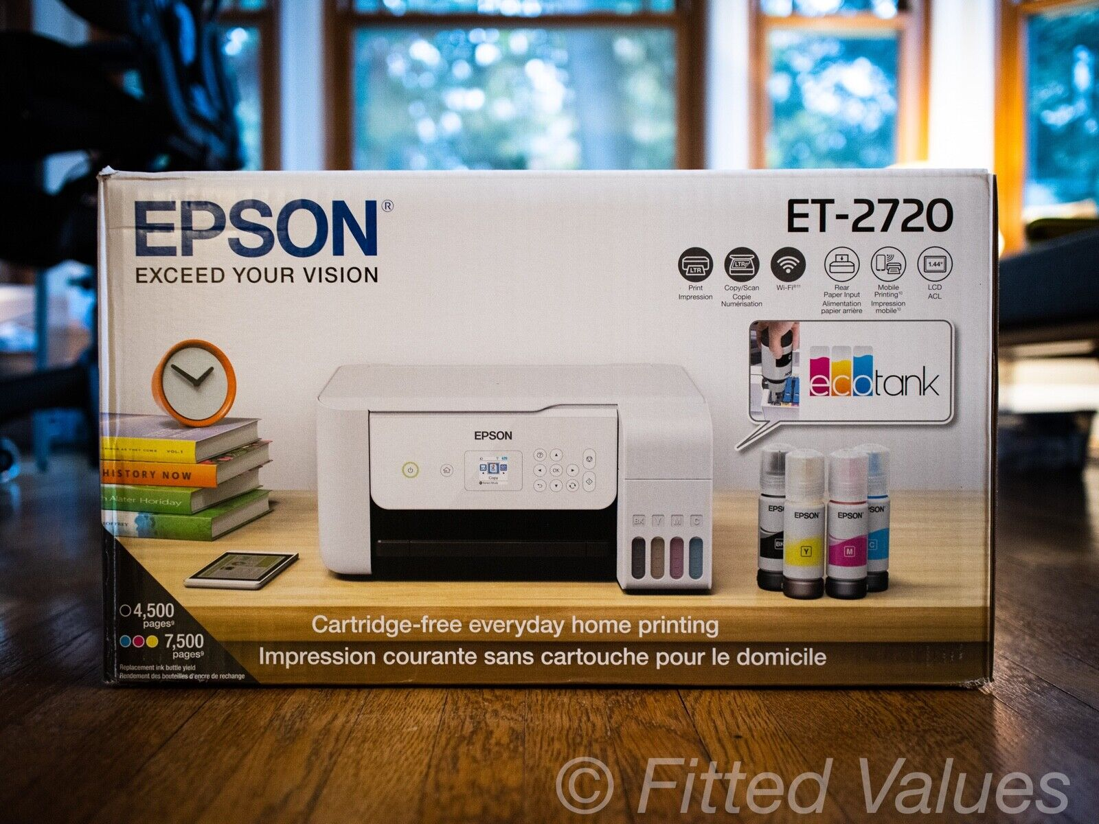 Epson EcoTank ET-2720 All-In-One Supertank Color Printer (White) - NEW SHIPS NOW. Buy it now for 263.88