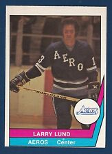 LARRY LUND 77-78 WHA  O-PEE-CHEE WHA 1977-78 NO 19 NRMINT+