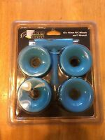 Street Flyers 65mm X 45mm Pvc Skateboard Wheels - With T-wrench ( 4 )