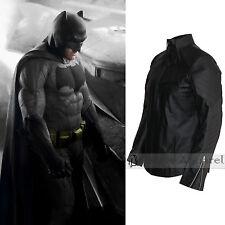 Batman Vs Superman Costume Ben Affleck Mens Batman Black Leather Jacket