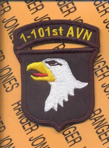 1-101st Aviation 101 Airborne Div Air Assault patch