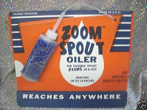 ZOOM-SPOUT OILER *THE ORIGINAL EXTENDS-RETRACTS 4oz.