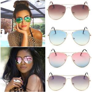 Women-Vintage-Aviator-Mirror-Lens-Goggles-Sunglasses-Sport-Eyewear-Eye-Glasses