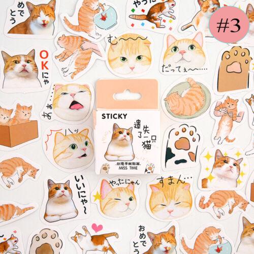 Series Cute Scrapbooking  Boxed Sticker Album Decor Paper Stickers Diary Label