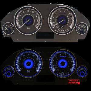 ADD W1 Gauge Overlay for BMW F30 F31 F32 F33 328i//335i//320i white face gauge