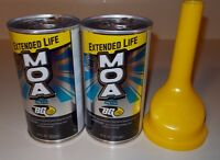 Bg Products Moa Extended Life 115 Engine Oil Additive 2 Cans And Funnel