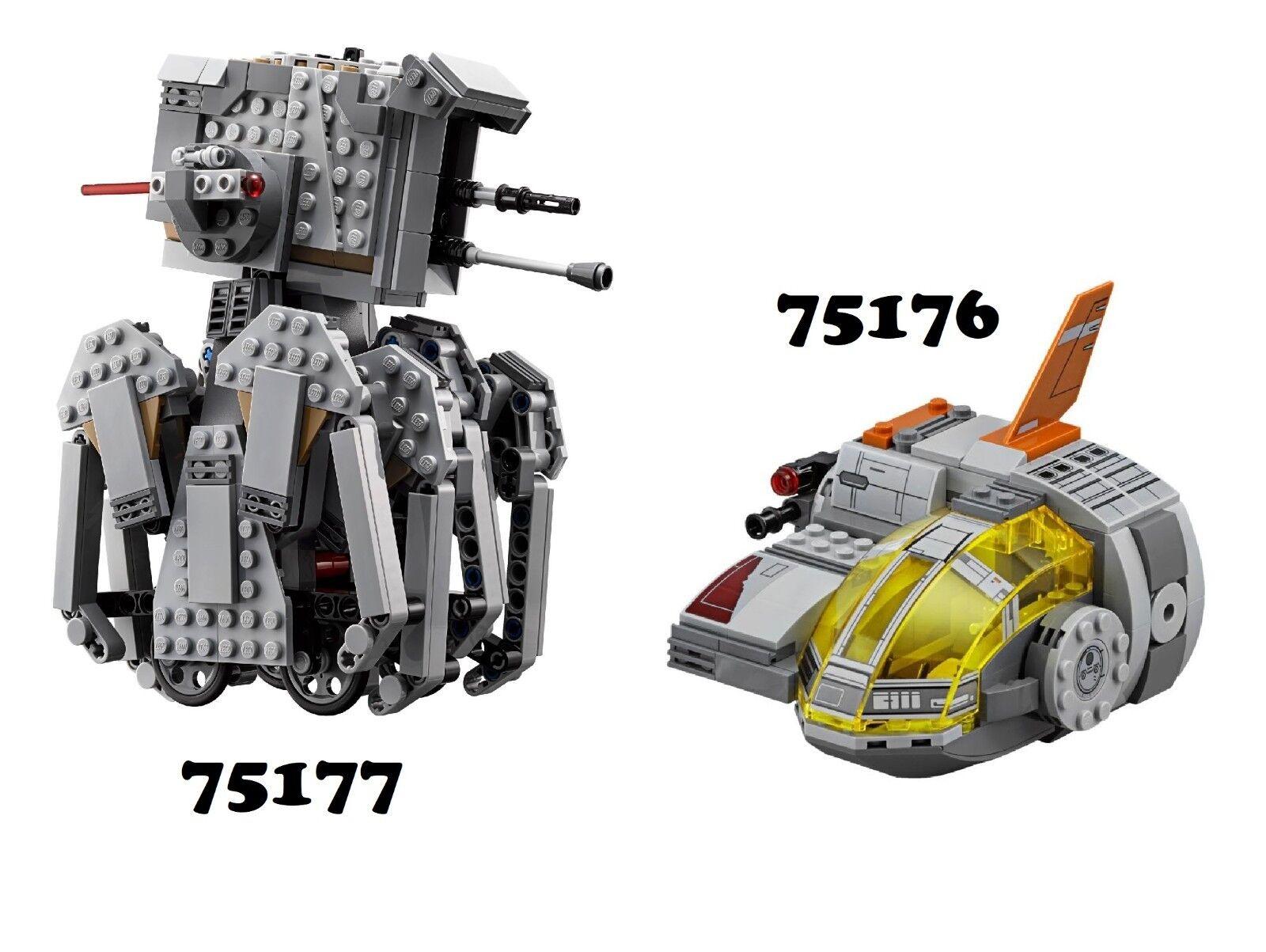 NUOVO  LEGO estrella guerras  75176 & 75177 Combo Set con ALT costruisce  NO MINIFIGS  promozioni