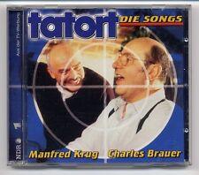 Manfred Krug Charles Brauer CD Tatort Die Songs - 1. Auflage
