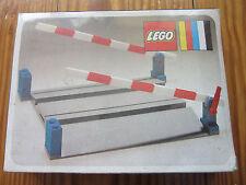 LEGO Eisenbahn alt 4,5V / 12V Bahnübergang 158 OVP eingeschweißt
