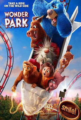 Y-17 Wonder Park 2019 Movie Dylan Brown Mila Kunis Hot Fabric Poster 12x18 24x36