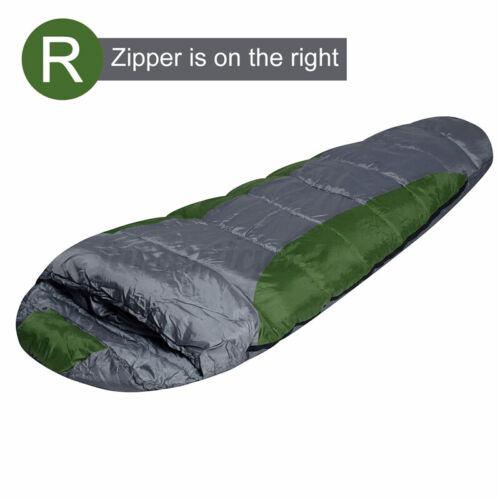 21°C Outdoor Camping Zelt Wasserdicht Schlafsack Mumienschlafsack Frozen Mummy