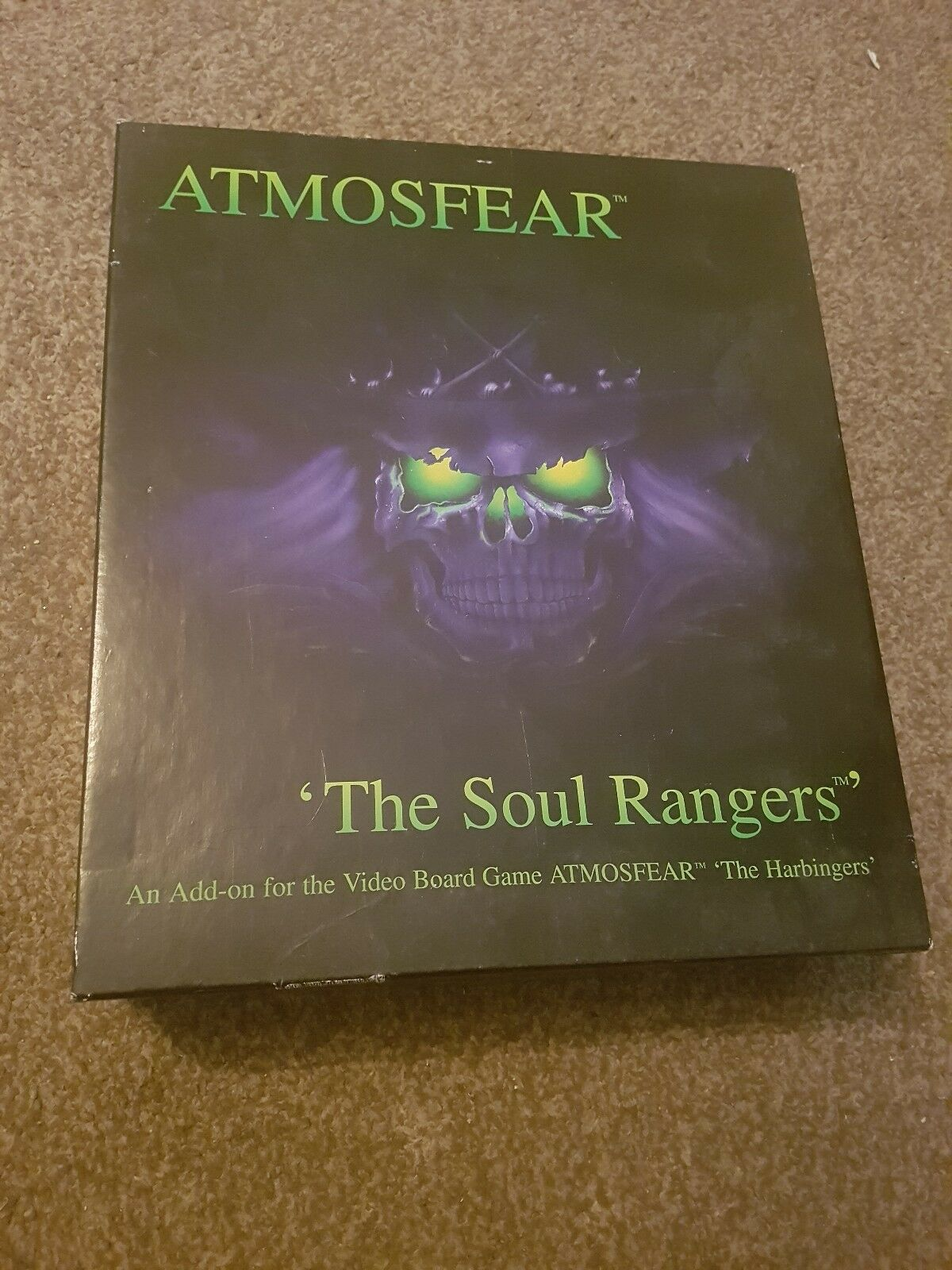 Atmosfear The Soul Rangers Video Board Game VHS Add On New And Unused Rare