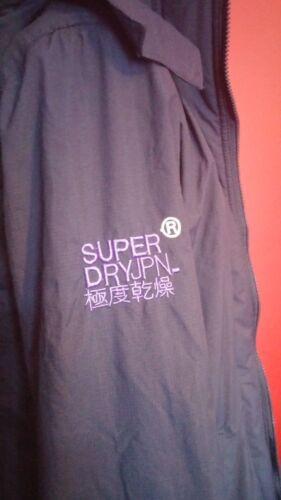 jas Medium maat Superdry fleece gevoerde Ex1qq8