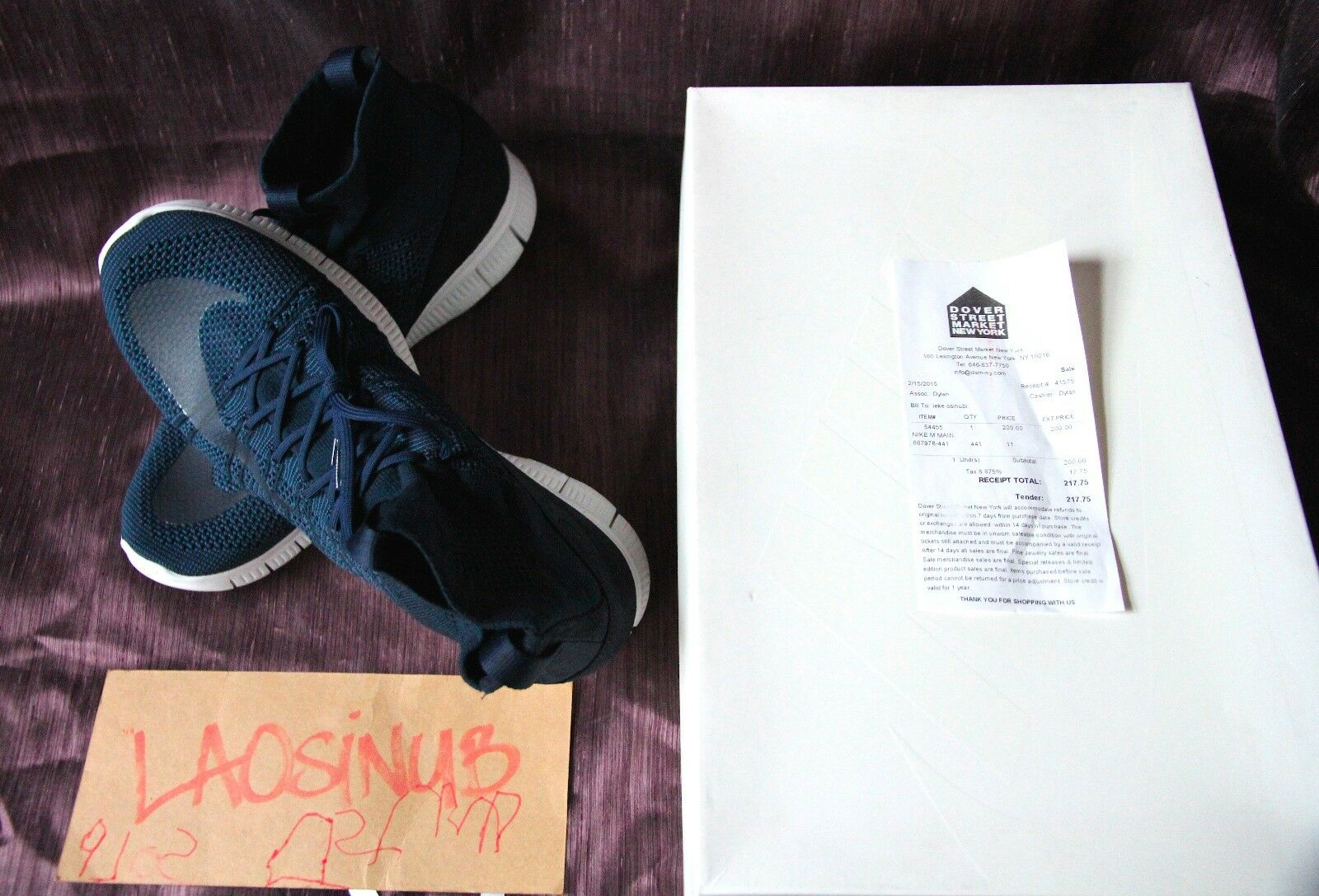 NIKE HTM FREE SP FLYKNIT SUPERFLY MECURIAL SP FREE - M SIze 11 - NIB - RARE - OBSIDIAN 35a974