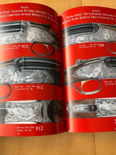 Details about  /Perazzi 2000 Dealer Catalog Shotgun Extra Super Gold Sco MX2000S