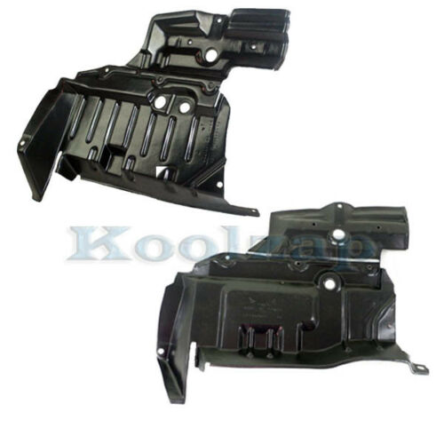 Front Engine Splash Shield Under Cover For 98-01 Altima Right Left Side SET PAIR