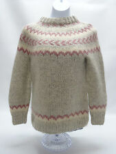 THE HANDKNITTING ASSOC. OF ICELAND WOMENS SIZE MED WOOL SWEATER - EUC