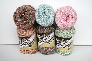 Lily-039-s-Sugar-039-n-Cream-TWISTS-Yarn-2oz-4-Med-Wt-Knitting-Crocheting-Crafts