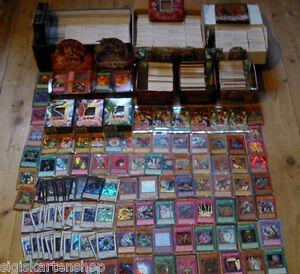 500-Yu-Gi-Oh-tarjetas-incl-muchos-Holo-ultra-rare-SCR-rare-Tin-lata-de-coleccion