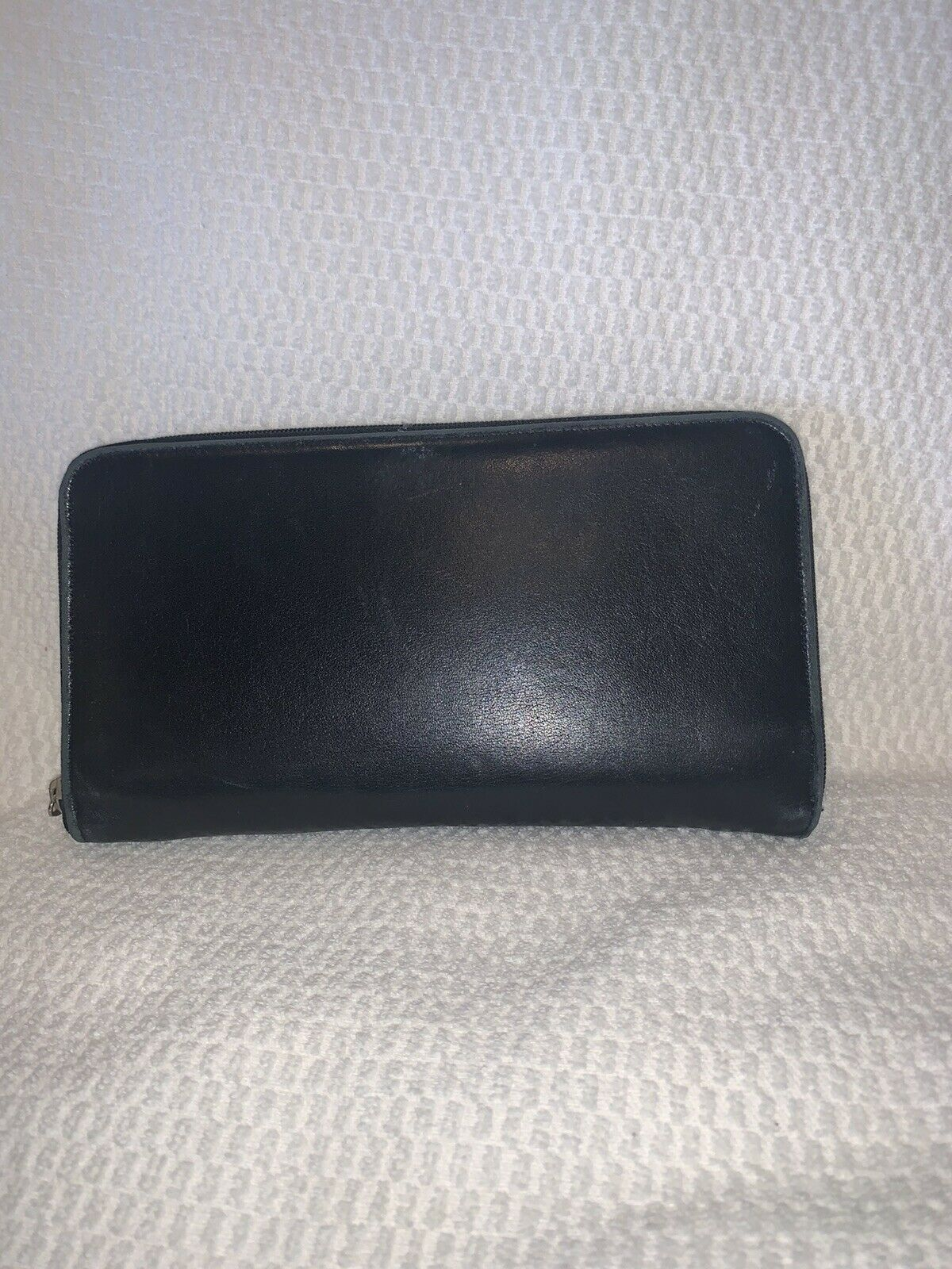 Lodis Leather Zip Around Wallet