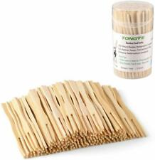 10.5cm Natural Cane Bamboo Sticks Skewers Ideal Buffet Canapes /& Party Food