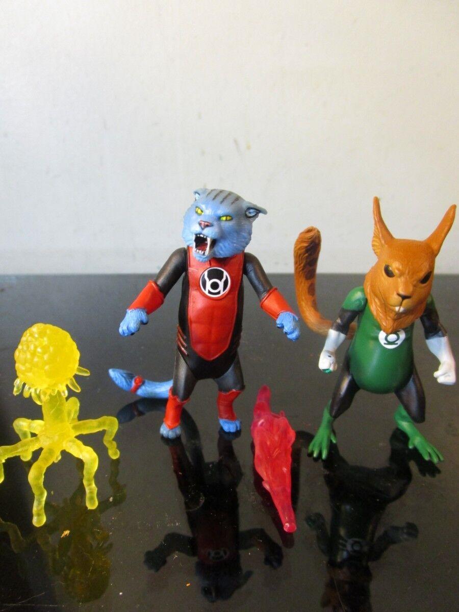 Green Lantern Classics Lantern Animals B'dg, Dex-Starr, and Despotellis loose