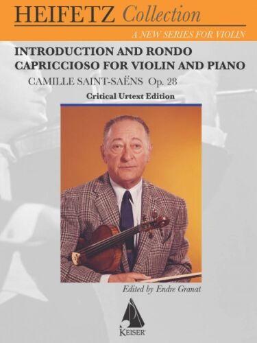 28 for Violin and Piano Introduction and Rondo Capriccioso Op Criti 000141931