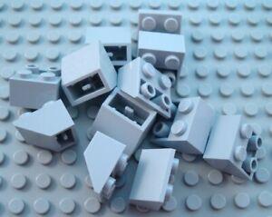New LEGO Lot of 12 Dark Bluish Gray 2x1 Slopes