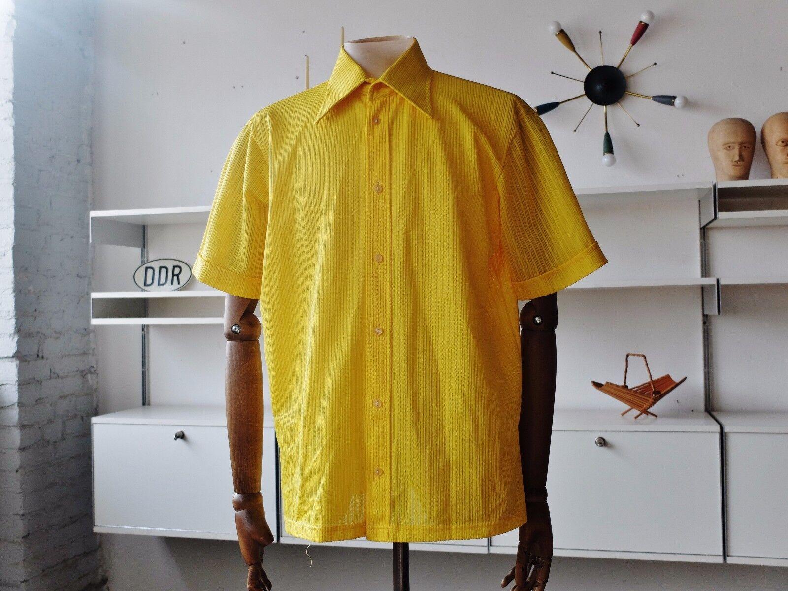 VEB Zentralwirkerei Limbach Herren Hemd Freizeithemden DDR 70er True VINTAGE 70s | Gewinnen Sie das Lob der Kunden