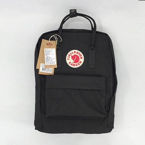 7L//16L//20L Unisex Backpack Fjallraven Kanken Travel Shoulder School Bags Hot New