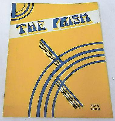 May 1938 THE PRISM ~ Lynchburg College ~ Sigma Tau Delta~ Bernard Reams, more