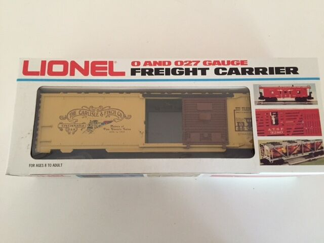 Lionel TCA Museum Box Car redecorated by Pleasant Valley Process Co.