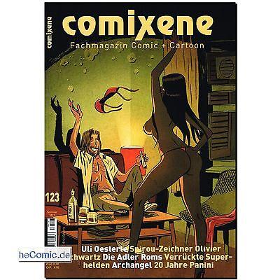 COMIXENE 123 Magazin Comic Cartoon MAD Marini Die Adler Roms 20 Jahre Panini