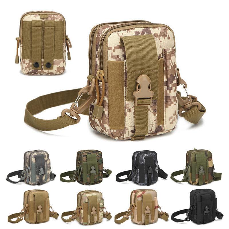 Flashlight Holder Case Nylon Light Holster Army Tactical Flashlight Pouch Q