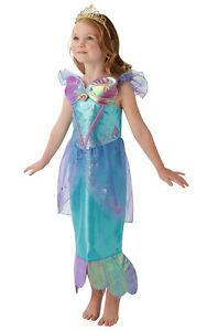 Detalles De Vestido De Fiesta Niño La Sirenita Ariel Disfraz Elaborado De Semana Libro Ver Título Original
