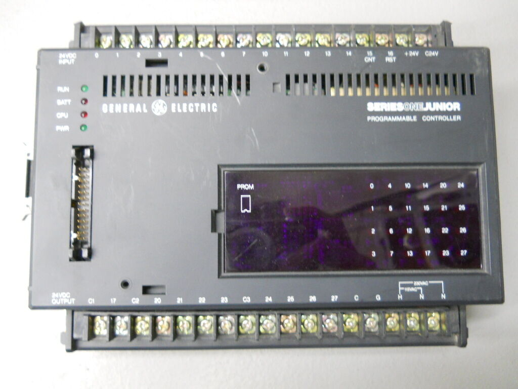 GENERAL ELECTRIC IC609SJR-110A SERIES ONE JUNIOR PROGRAMMABLE CONTROLLER