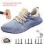Sécurité Travail Chaussures pour Homme Steel Toe Cap Antidérapant Respirant Sécurité Bottes
