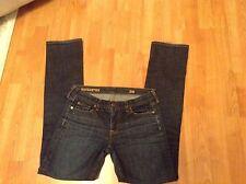 J Crew Jeans MatchStick 28 R Stretch Low Rise Slim Straight Denim