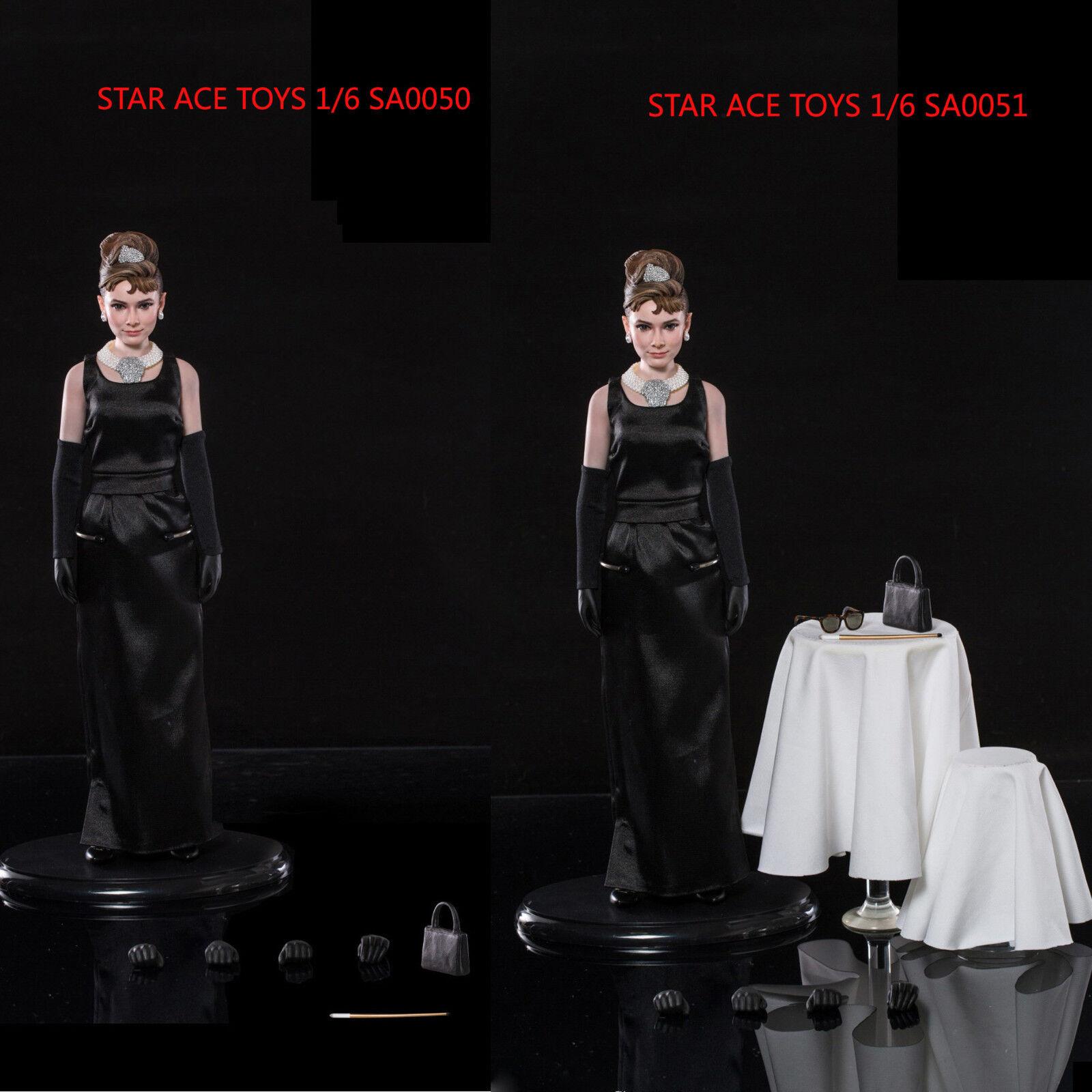 Star Ace Juguetes 1 6 SA0050 SA0051 Audrey Hepburn Holly Golightly Figura De Acción