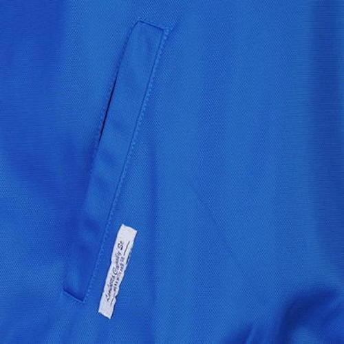Lambretta Jacket Retro Vintage Track Top Full Zip Blue Navy Tone Baseball CM6348
